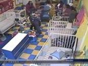 Brawl Breaks Out At Daycare Center Between Dude & Beastie Hair Hats!