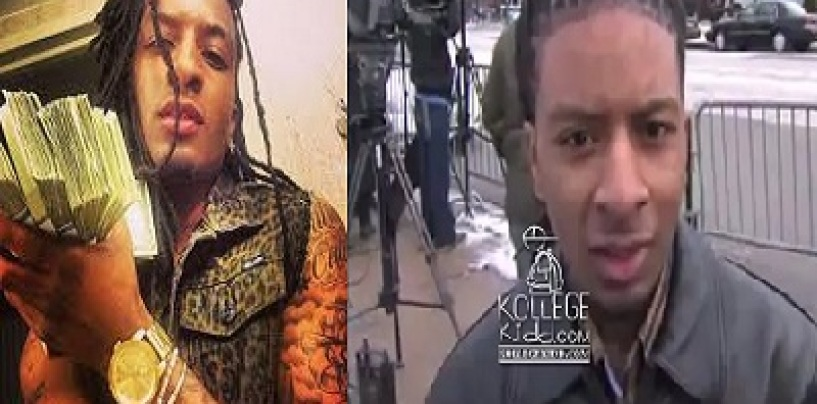 Chicago Man Young QC Spoke Out Against Violence Before It Was Later Found That He Murdered His Mom! (Video)