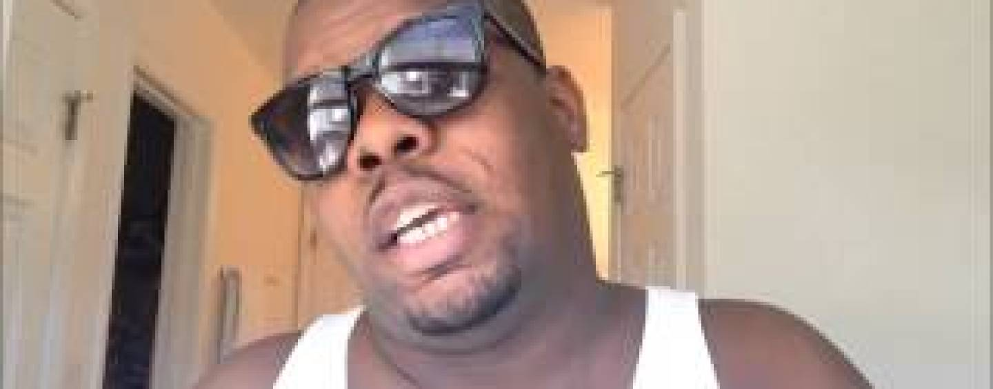 This Black Dude Goes Off On Tommy Sotomayor, His Mother, Father, Girlfriend & Daughter! Must See Video!