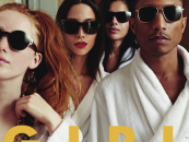 Pharrell Fires Back At Women Who Have A Problem With His Album Cover Featuring Non Black Women!(Video)