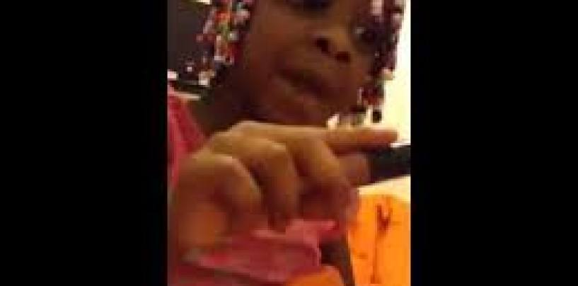 Child Says F*ck The Candy Man! These Are The Beasties That Cuss All Dayum Day!(Video)