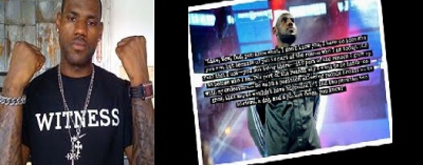 Lebron James Thanks His Father For Not Being In His Life! @KingJames (Video)