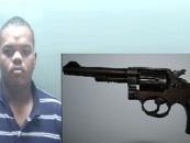 Man Smuggles A 10″ Long Pistol In His Rectum At A North Carolina Jail! (Video)