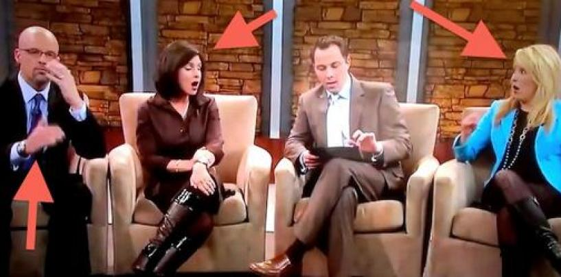 Fox News Perv Accidentally Broadcast His Ding A Ling Photo On Live TV! You Gotta See This (Video)
