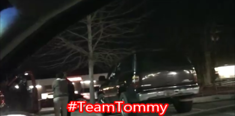 Youtuber Makes Video Explaining A Run In He Had With The Black Terminatrix In A Public Parking Lot! (Video)#TeamTommy