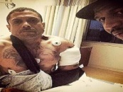 Update Benzino Instagrams Photos Of Himself From The Hospital With Stevie J! @Iambenzino  (Video)