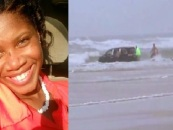 Psychotic Beastie Mom Tries To Drown Her Kids In The Atlantic Ocean After Claiming She Had Demons In Her Home! (Video)