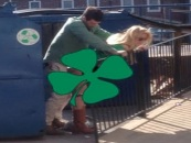 Couple Caught Doing The No Pants Dance By A Dumpster Caught On Video Now Wanted By The Police! (Video)