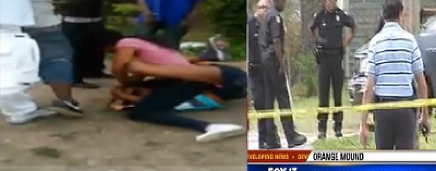 2 Black Beasties Fight, Post It On Facebook Leads To Murder Of Married Couple Of 4 Kids! (Video)