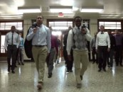 Young Black Men Opt For Suit & Ties Over Saggin Pants! Lets Join The Revolution! (Video)