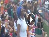 #HHOTD (Video) Granny Big Belly, Blue Haired, Hair Hat, Dancing For The World To See!