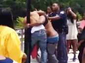 Hait Hatted Hooligans Cause A Fight At Randallstown High Graduation! (Video)