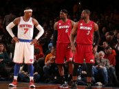 Carmelo Anthony Reportedly Considering Playing For The Miami Heat Next Year! Would This Be Good Or Bad For The NBA?