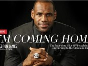 NBA Mega Star Lebron James Explains Why He's Going Back To Cleveland But Does This Make Black Men Look Weak? (Video)