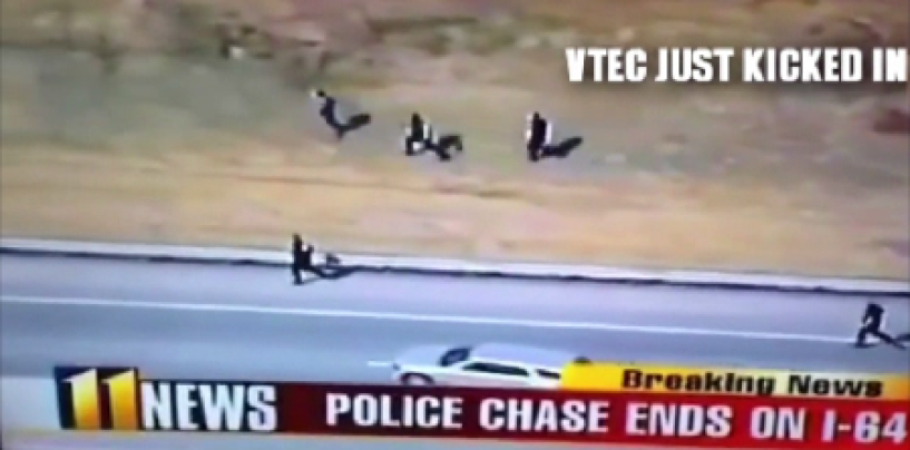 Fastest Police Officer In History Runs Criminal Down Who Had 60 Yard Head Start! (Video)