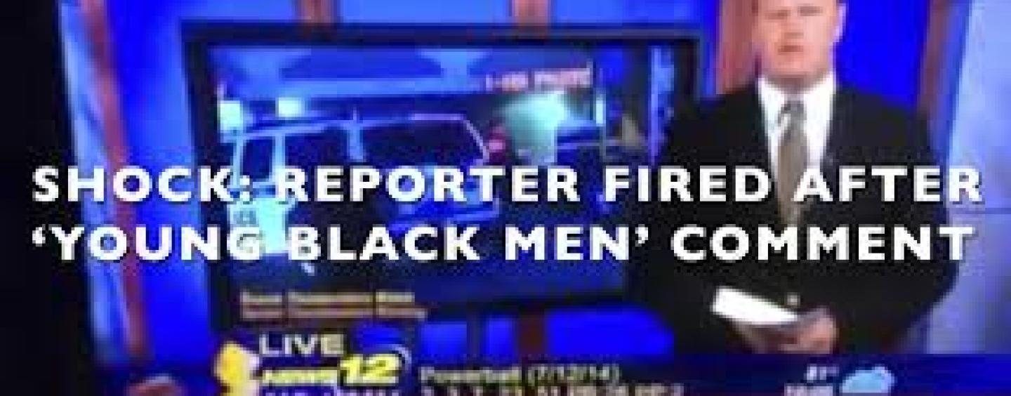 News 12 Reporter Sean Bergin Fired For Telling The Truth About Single Black Mothers! Tommy Sotomayor Weighs In! (Video)
