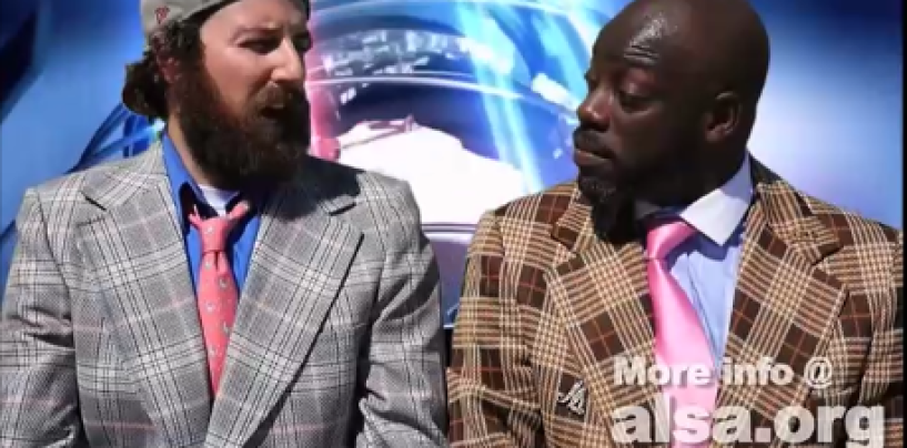 Tommy Sotomayor & Noah Applebaum Combine In An Epic Ice Bucket News Segment! (Video)