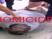 Eric Garners Death Ruled A Homicide So Will The NYPD Now Be Charged With Murder? (Video)