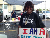 Black Female Leads Rally To Proclaim Innocence Of Officer Who Killed Mike Brown In Ferguson MO (Video)