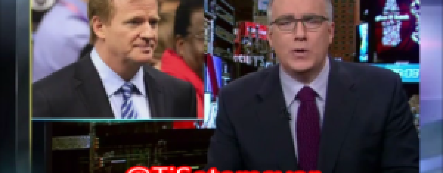 My Man Keith Olbermann Goes Off On The NFL & Their Handling Of The Ray Rice Situation! (Video)