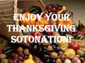 HAPPY THANKSGIVING SOTONATION!