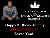 HAPPY BIRTHDAY MR. TOMMY SOTOMAYOR!! {VIDEO}