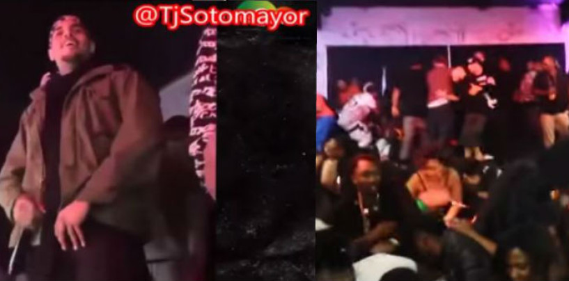 #DUMBSHIT: 5 People Shot At A Chris Brown Concert In San Jose, California (Video)