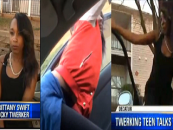 Teen Beastie Who Fell Out Of A Moving Car Twerking Explains Her Actions To Awaiting White Media! (Video)