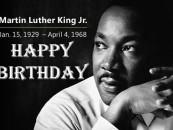 HAPPY BIRTHDAY DR MARTIN LUTHER KING, JR #CHILDRENSLIVESMATTER (VIDEO)