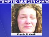 Snow Beast Tries To Kill Her 9 & 4 Year Old By Poisoning Their Apple Juice! ( Video)