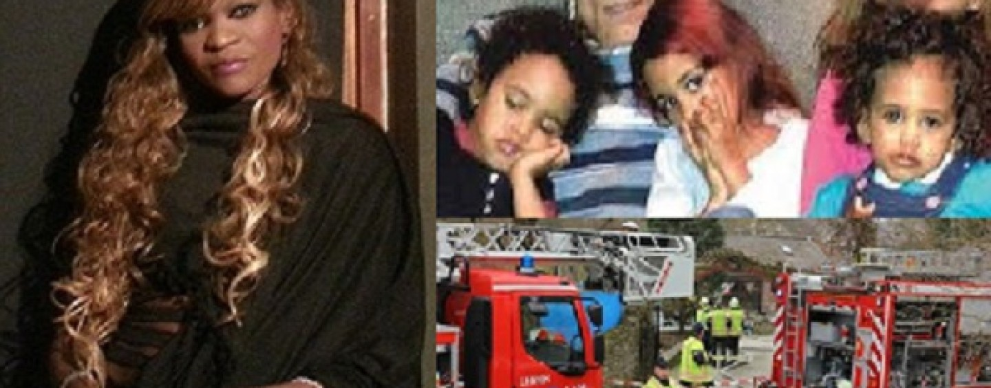 BT-1000 Mom Burns Her 3 Kids Alive & Calls White Father So He Can Hear Their Screams! (Video)