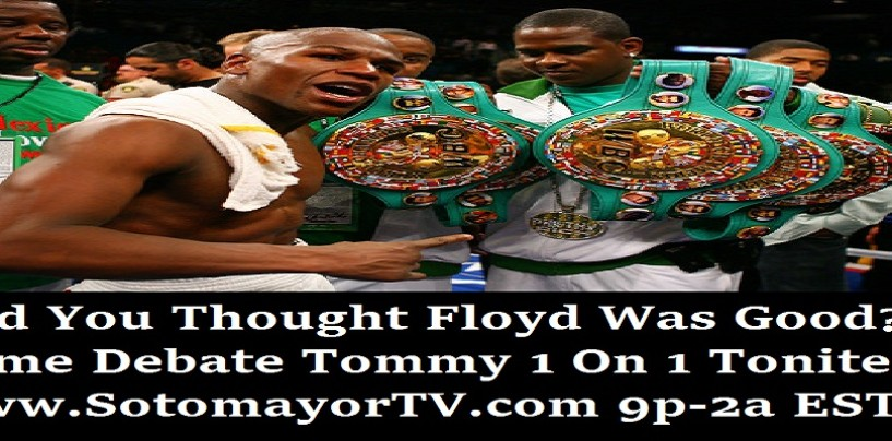 2/24/15 – Debate The Champ, Challenge The Champ Tommy Sotomayor!