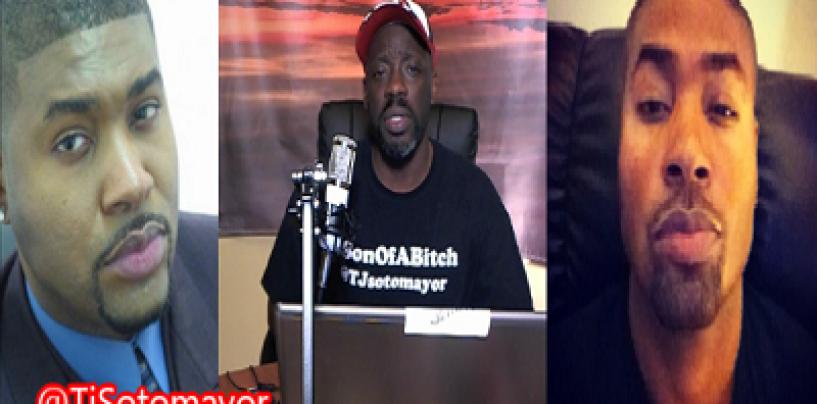 How White Supremacy Chose Pro Black Pimp Tariq Nasheed Over Tommy Crispy Sotomayor! (Video)