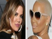 Celebs Khloe Kardashian & Amber Rose Beef On Tweeter About Ambers Jealousy Of The Kardashian's Success & Amber's Failed Life! (Video)