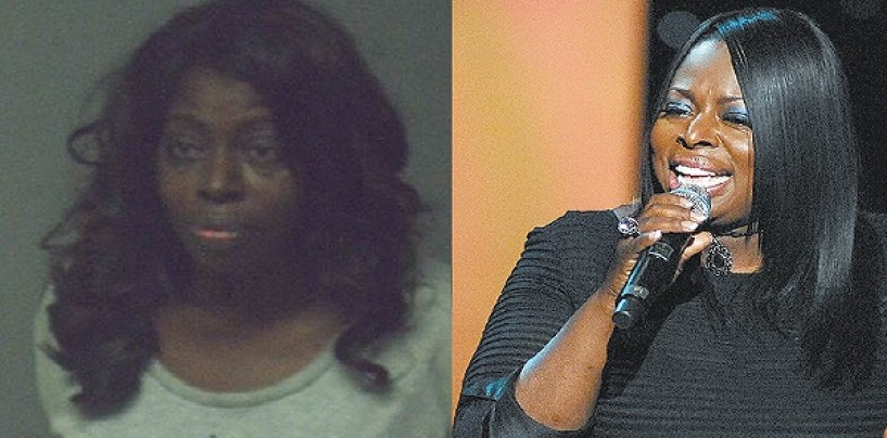 R&B (Ratchet & Beastie) Diva Angie Stone Jailed For Knocking Out Her Daughters 2 Front Teeth! (Video)