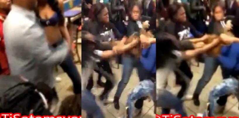 BT-1000 Teenaged Hair Hatted Hooligan PoundCake Fest In Flatbush McDonalds! (Video)