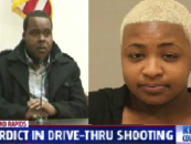 Platinum Blonde Hamburgler B!tch Convicted Of Shooting Up Mcdonalds For Forgetting To Add Bacon To Her Burger! (Video) #IShitUNot