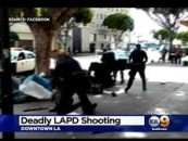 Unarmed Homeless Man Shot Down By LAPD! New Video Angle! Was The Shooting Justified? (Video)