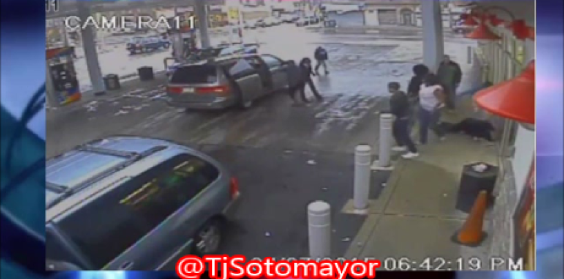 Philly BT-1000 & A Van Full Of Nigglets Beat A 51 YO Homeless Man Into A Coma! Does This Black Life Matter? (Video)