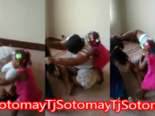2 Beast Teach Toddler How To Fight Like FullSize BT-1000! Other Blks On FaceBook Find It Funny, Do You? (Video)