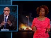 HCBW – Comedy Central's Larry Wilmore Makes Fun Of Violent Black Moms During The Baltimore Riots! (Video)
