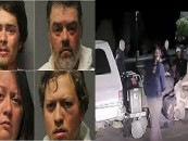 AZ Cops Take Out The White Trash By Killing 1 & Beating Other Members Of A Christian Band At Wal-Mart! (Video)