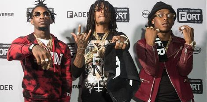 Members Of The Rap Group Migos Arrested on Guns & Drugs Charges Ending Their Latest Concert! (Video)