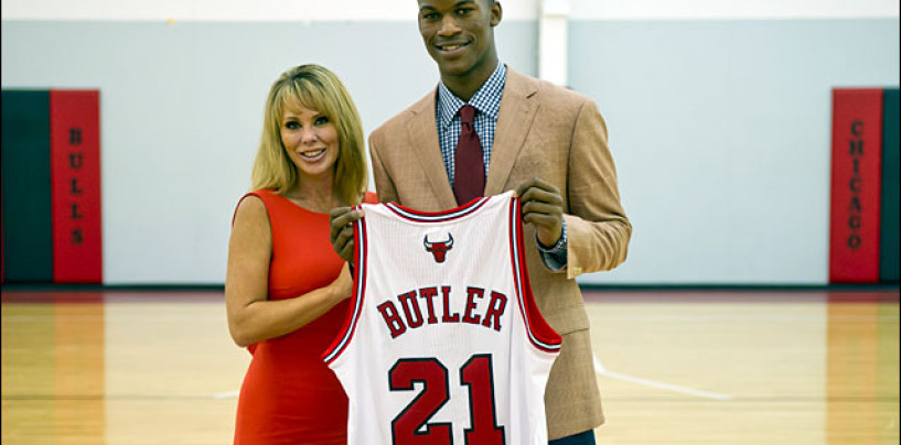 How The Bulls Jimmy Butler Was Rescused By Whites From His Black Mom To Become A NBA Star! (Video)