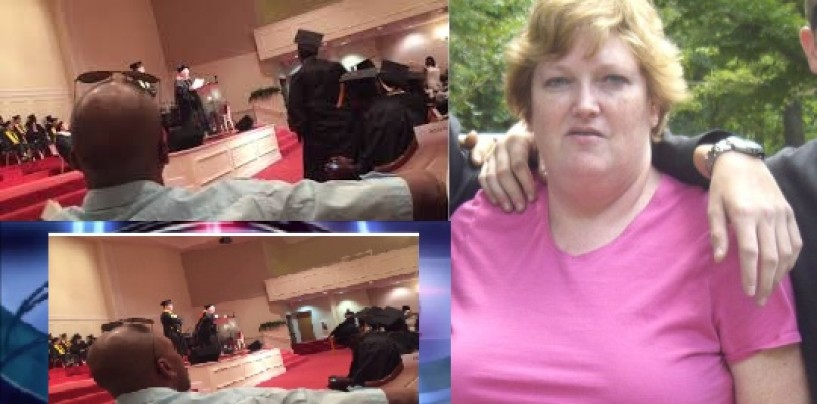 Fatty McFat Fat White B!tch GA School Founder Caught Making Racist Comments During Graduation Ceremony! (Video)