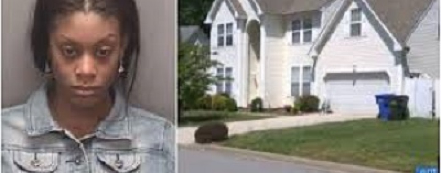 Police Arrest Hoodrat BT-1000 DSE For Leaving 8YO Son Home Alone Memorial Day Weekend So She Could Go Get D!CK! (Video)