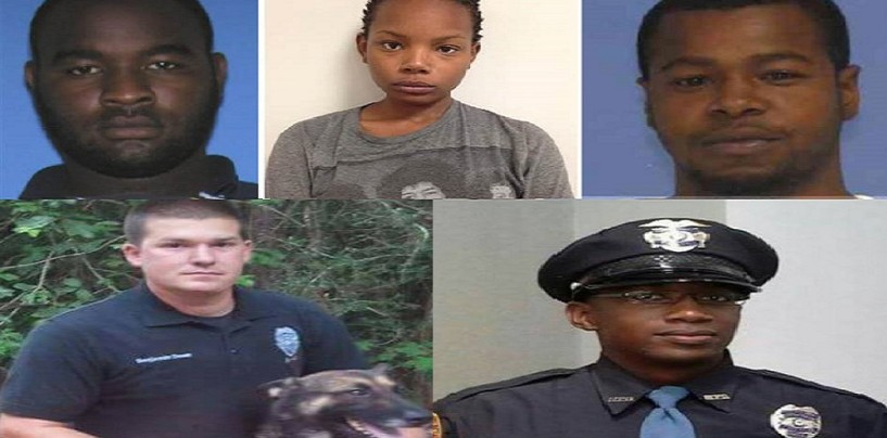 2 Cops Shot & Killed By 3 Niggaz In Hattiesburg Mississippi During A Routine Traffic Stop! Will There Be Outrage? (Video)