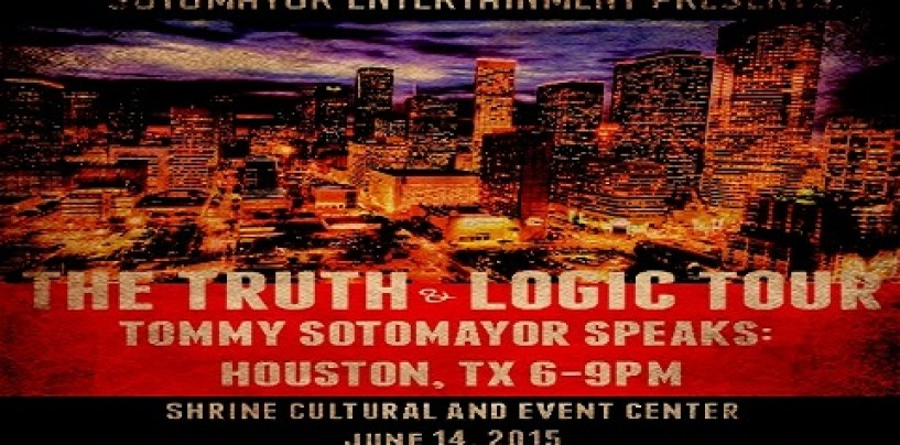 See Tommy Sotomayor Live In Houston Text Sun June 14th! Buy Your Tickets Here