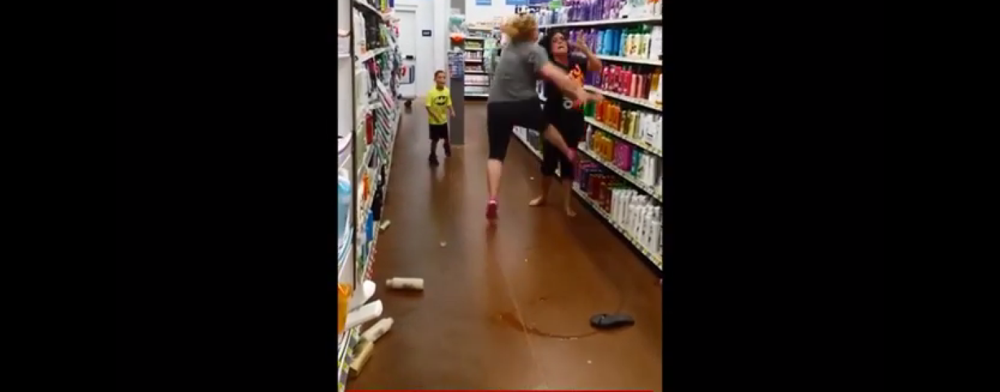 2 SNOW BEAST POUNDCAKE EACH OTHER IN WALMART & JUNIOR MADDEN KING JOINS IN! (VIDEO)