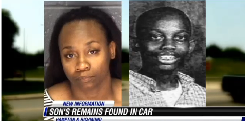 Black Queen Accused of Hiding Son's Dead Rotting Corpse In The Trunk Of Her Car Since 2004! (Video)